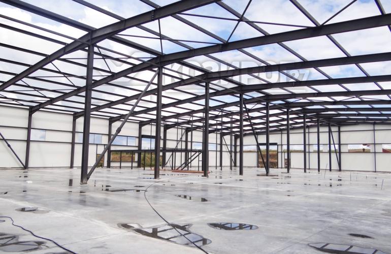 Козирог27 Сграда за високотехнологично производство на алуминиеви изделия за обувната промишленост на фирма Стратеджия