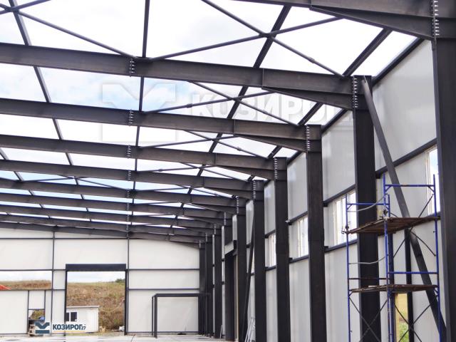 Козирог 27 Сграда за високотехнологично производство на алуминиеви изделия за обувната промишленост на фирма Стратеджия